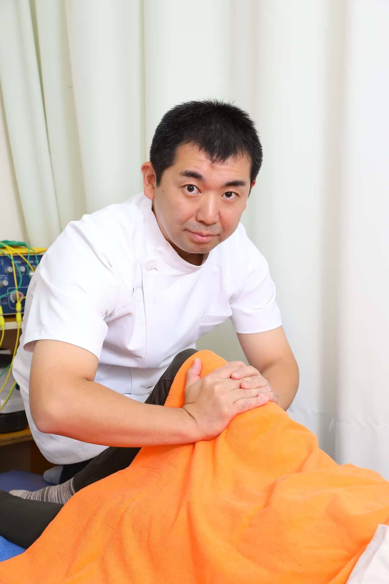 柏鍼灸整骨院 施術イメージ